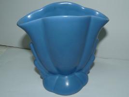 Vintage Bauer Pottery Los Angeles Matte Blue Ar... - $46.78