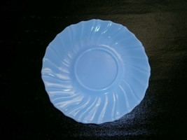 "Vintage SWIRL Fire King Azur Ite Saucer Anchor Hocking 5 3/4"" Diameter S... - $2.97"
