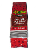 Crushed Red Pepper - Kirmizi Pul Biber - 75g per Pack - Flake - Destan B... - €5,61 EUR+