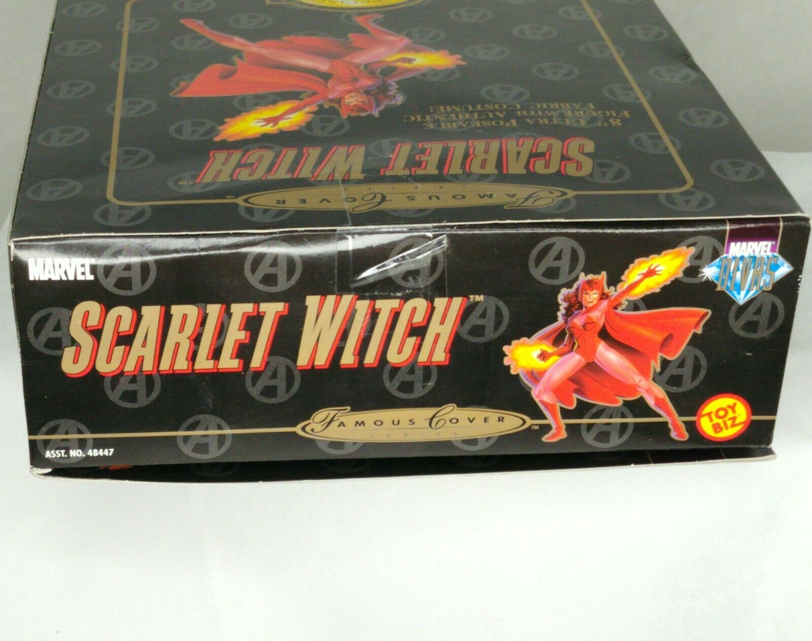 """Marvel Famous Cover Series 8"""" Ultra Poseable 2000 The Scarlet Witch #48449 NIP image 6"""