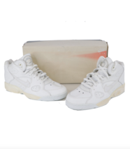 NOS Vintage 90s Nike Air Transition Force 3/4 Shoes Sneakers White Women... - $118.75