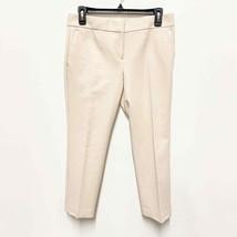 Ann Taylor Women's 4P Ivory Devin Fit Petite Ankle Crop Dress Pants Trouser - $23.13
