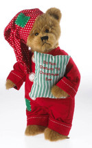 Boyds Bears Plush Snoozey St. Nick 4034009 WINTER RETIRED  2013 no tags - $35.00