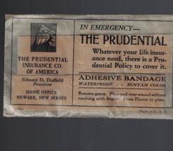 Prudential Insurance Company Unopened Adhesive Bandage - $10.07