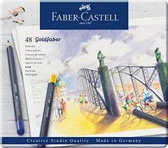 Faber-Castell Creative Studio Goldfaber Color Pencils - Tin of 48 - $34.82
