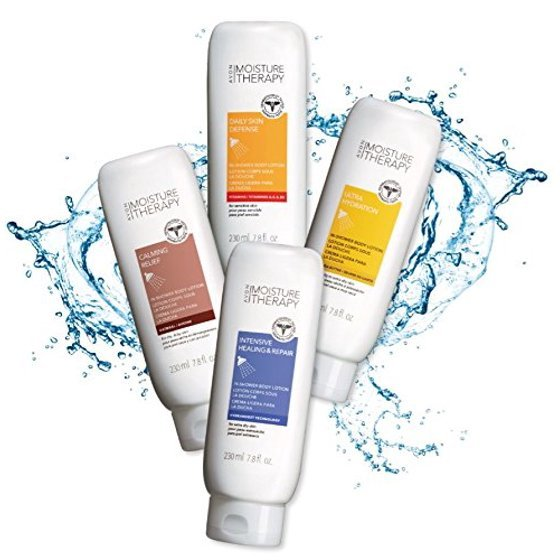 Primary image for Avon Moisture Therapy Intensive Healing & Repair In-Shower Body Lotion