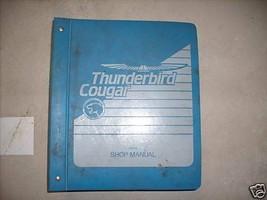 1989 Ford Thunderbird & Mercury Cougar Service Atelier Réparation Manuel... - $19.60