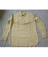WWI US ARMY DOUGH BOY INFANTRY M1917 FLANNEL COMBAT FIELD SHIRT-SIZE SMALL - $84.11