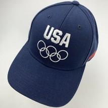 USA Olympics Sochi Budweiser Adjustable Adult Ball Cap Hat - $14.84