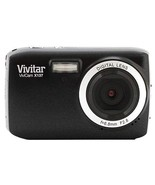 Vivitar VX137-BLK 12.1MP Digital Touch Screen Camera with 1.8-Inch LCD S... - £38.85 GBP