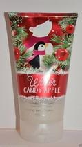 Bath & Body Works Winter Candy Apple Sparkling Snowflake Scrub 8 Oz New - £8.97 GBP