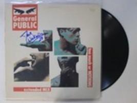 "Dave Wakeling Autographed ""General Public"" Record Album - $29.99"