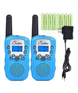 Swiftion Rechargeable Kids Walkie Talkies 22 Channel 0.5W FRS/GMRS 2 Way... - $30.80
