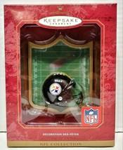 2001 Hallmark Keepsake Pittsburgh Steelers NFL Helmet Ornament QSR5565 - $20.00