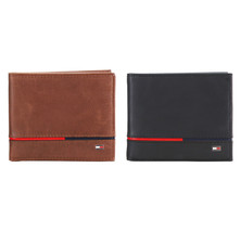 Tommy Hilfiger Men's Leather Credit Card ID RFID Passcase Wallet 31TL220134