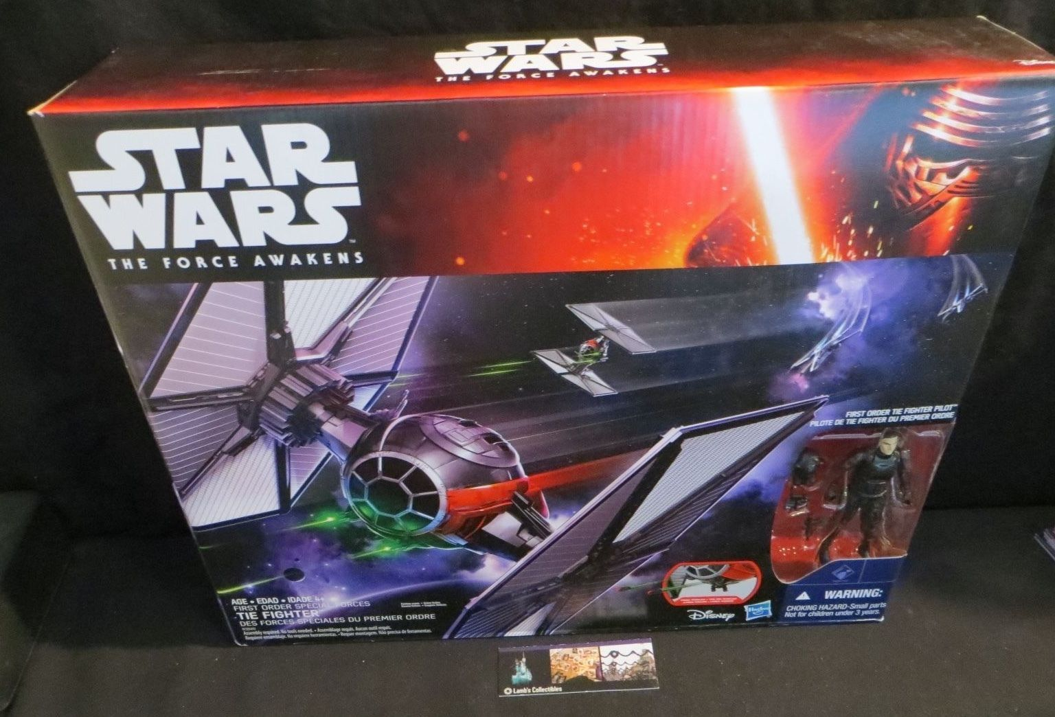 Primary image for First Order Special Forces tie fighter Star Wars The Force Awakens Disney Hasbro