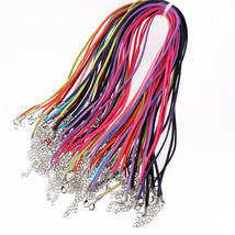 10pcs/lot 2.5mm 10 Colors Suede Cord Necklace Materials To Make Necklace... - $13.61+