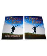 2 2000 A PIECE OF EDEN Movie 8.5x11 AD SLICKS Advertising Promo Sheets - $9.99