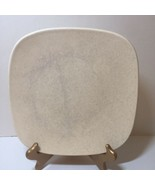 """3 Dinner Plates Chargers Luna Sand Pottery Barn Beige 11.5"""" Square - $38.69"""