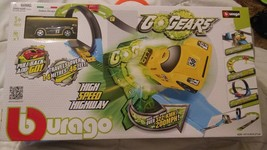 Bburago GOGEARS Italian Design High Speed Highway With Car. NEW IN BOX! - $42.00