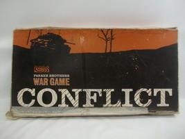Conflict Incomplete Parker Brothers War Game VTG Board Game Parts 46 Met... - £11.57 GBP
