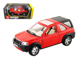Land Rover Freelander Red 1/24 Diecast Model Car by Bburago - $34.37