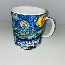 Starbucks Van Gogh Starry Night Christmas Tree Theme Coffee Mug Cup  - $45.53