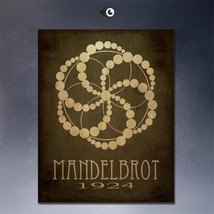 """SteamPunk ART """"Mendelbrot 1924"""" HD print on canvas huge wall picture 20x16"""" - $15.83"""