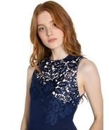 2019 NEW AUTH Alice Olivia JERI CREW NECK JUMPSUIT in Sapphire $495 - $149.00