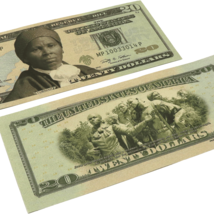 5x $20 Harriet Tubman Commemorative Bills - $7.99