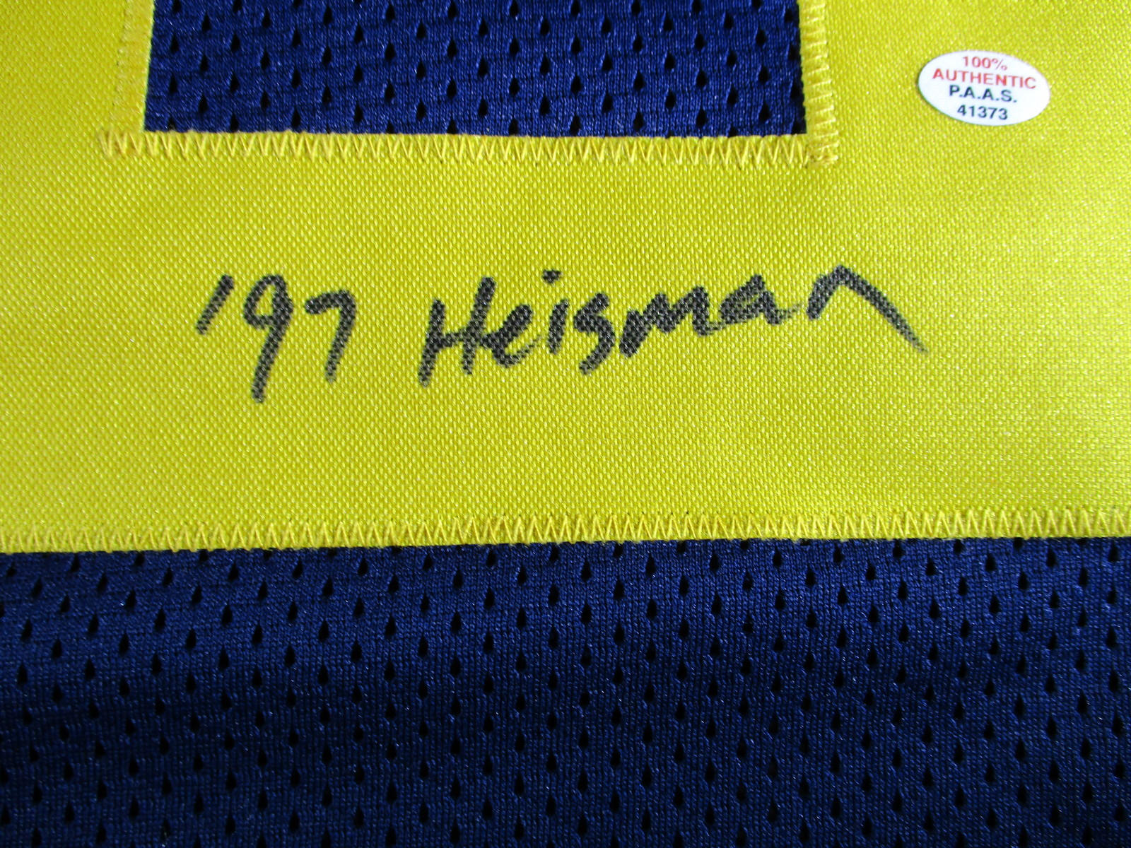 best service d123d 63f39 CHARLES WOODSON - MICHIGAN WOLVERINES - HAND SIGNED CUSTOM FOOTBALL JERSEY  - COA