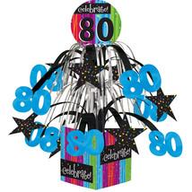 Milestone Celebrations Mini Cascade Centerpiece with Base 80th/Case of 6 - €30,55 EUR