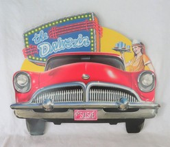 Beistle Co., Die Cut, Diner Wall Decor, 1999 The Drive-In - $9.00