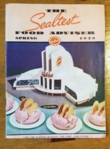 Vintage 1939  Sealtest WWII Era Food Adviser Booklet New York World's Fair - $7.49