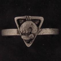 RING TWEETY BIRD WARNER BROS Looney Tunes WB STORE PEWTER Head 3D Triang... - $15.83