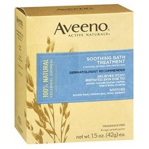 Aveeno Active Naturals Soothing Bath Treatment Packets, 8 each by Aveeno - $6.12