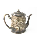 1875-1891 Tiffany & Co Makers Silver Soldered Tea Pot American Repousse ... - $2,138.40