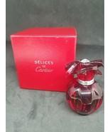 Delics De Cartier 1.6 FL oz / 50 ML Eau De Toilette Spray In Red Box 90%... - $42.06