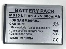 Samsung M610 Li-ion Standard Battery 600mAh - $6.92