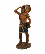"""72.5"""" Tobacco Cigar Store Indian LifeSize Native American Statue Collect... - $794.43"""
