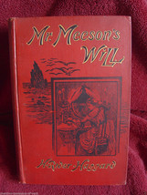 Rider Haggard MR. MEESON'S WILL 1st inscribed to his secretary. - $2,984.10