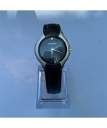 Rumours Ladies Fashion Watch, Black Dial, Simulated Diamond Accent, New ... - $20.00