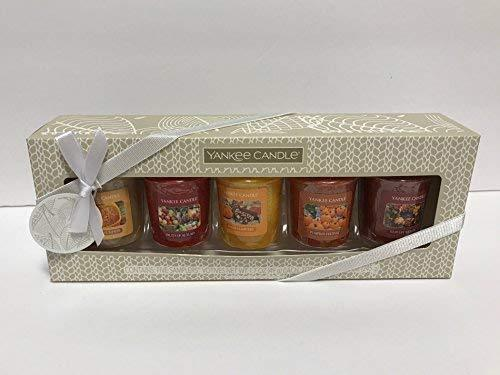 Yankee Candle Autumn Fall 5 Votive Gift Set