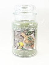 Village Candle Citrus Herb Scented Large Classic Jar Candle 26 oz - $30.00