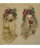 Santa Claus Ornaments Christmas Qty 2 - $12.89