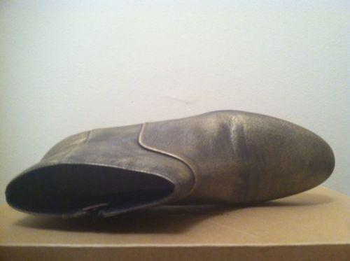 Cole HAAN Allen Botín Negro Metalizado Cepillo Off Mujer Botines de Moda 8N