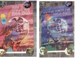 1964 New York World's Fair Poster Lot - $48.99