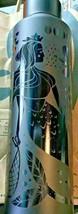 Starbucks Siren Mermaid Black Stainless Steel Water Bottle 20 Oz 2020. NWT! - $34.64