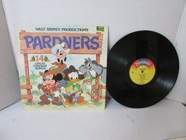 Vtg Record Álbum Disneyland 2512 Pardners Cowboy Songs 1980 L152 - £5.48 GBP