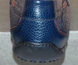 Leather Loafers NEW Sz Bacco Soft Men's Blue 12 255 Bucci qpIvHRw